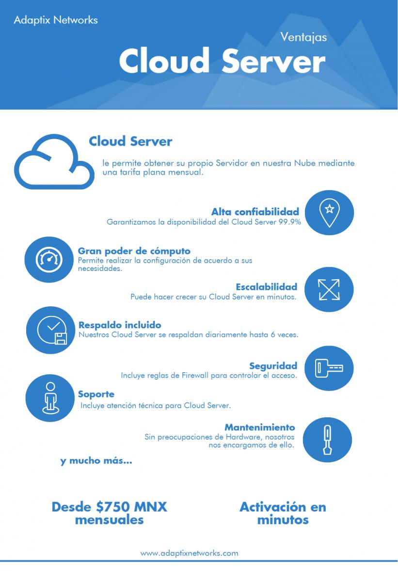 cloud server adaptix networks