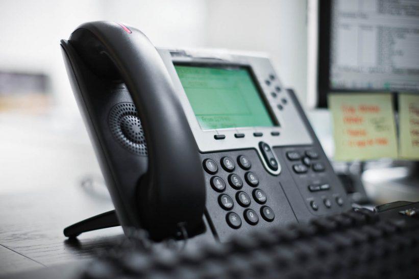 uso telefonía ip y conmutadores ip